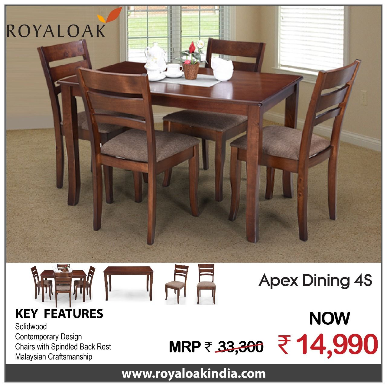 Pin By Royaloak Furniture On Dining Sets Pinterest Dining