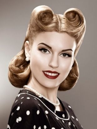 Pix For 50s Housewife Hairstyles Rockabilly Hair Retro Hairstyles Hair Styles
