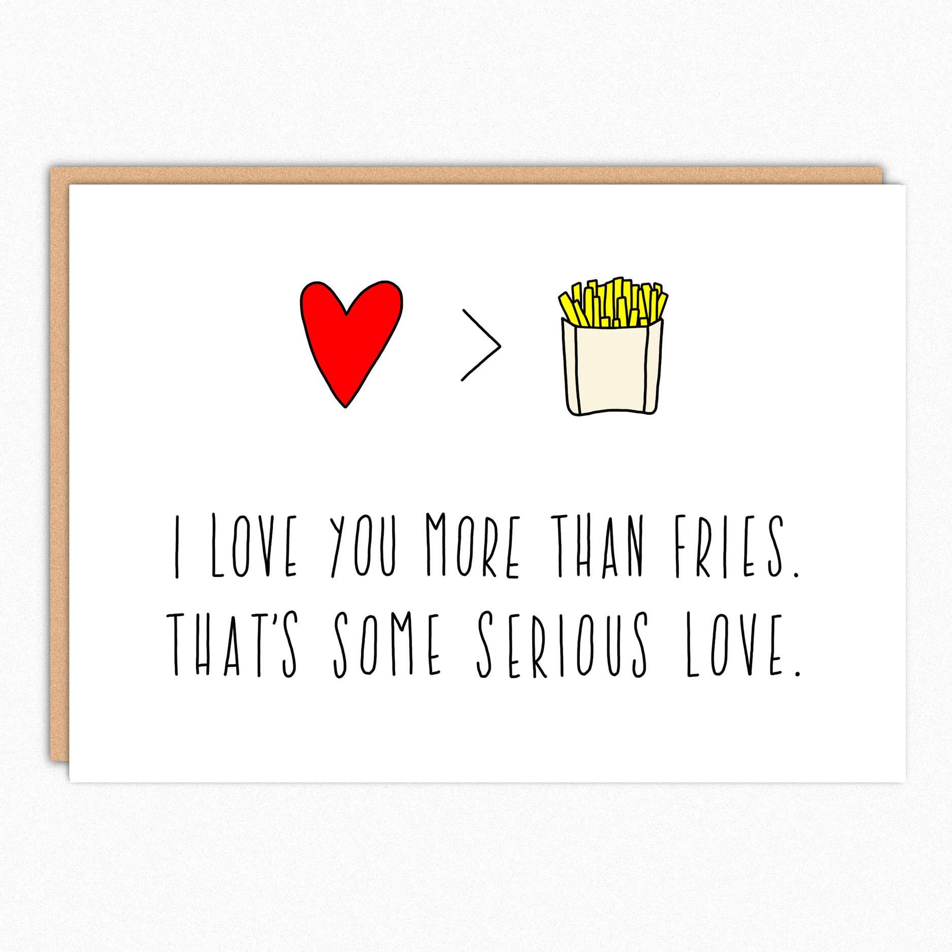 cute love card. friendship card. bff card. anniversary card for