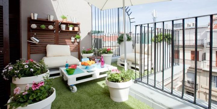 Grandes ideas para terrazas peque as patio pinterest - Ideas terrazas pequenas ...