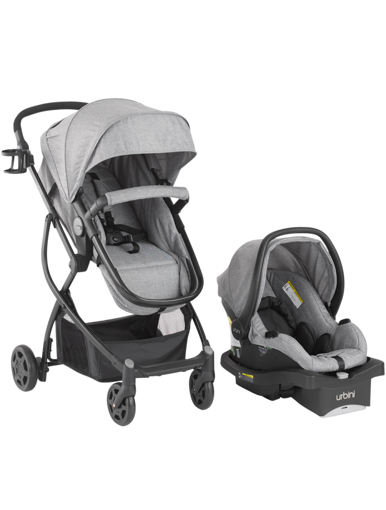 3in1 Baby & Toddler Travel System All in One Reclining