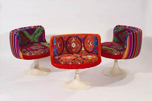 Slendid chairs....brilliant fabric