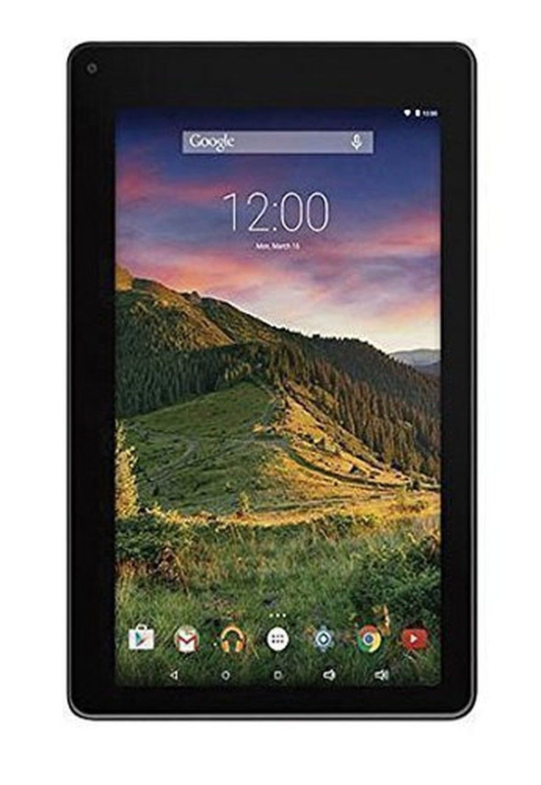 RCA Voyager II Tablet 8GB Quad Core Android 5.0 Black 7