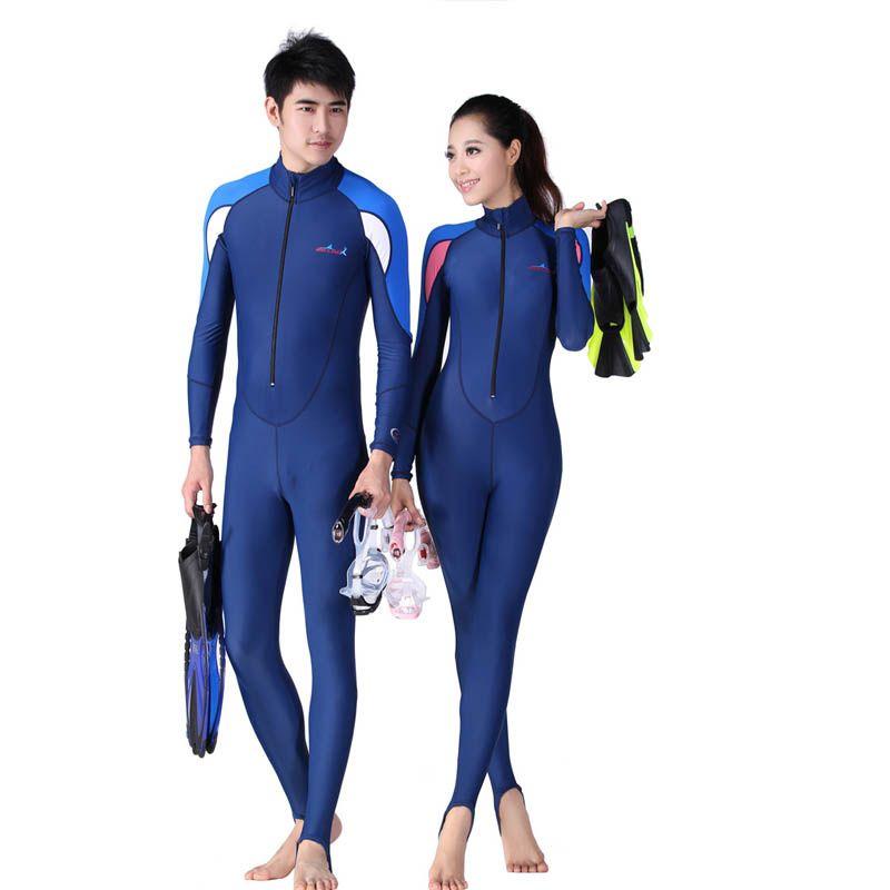 Women One Piece Swimsuit Full Body Scuba Surfing Rash Guards Swimwear Dive Skin