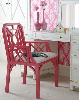 Lilly Pulitzer Office? I Think A Sewing Room Will Do!