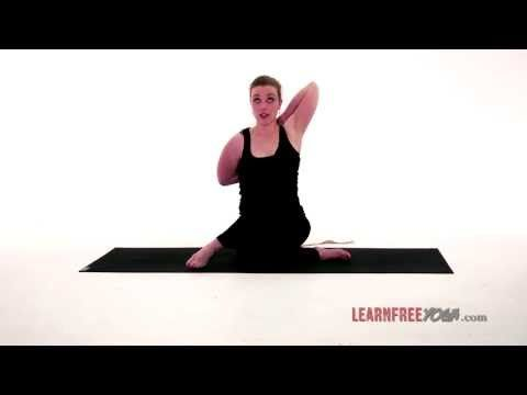 Yoga Poses: Cow Face (Gomukhasana) - http://47yoga.com/yoga-poses-cow-face-gomukhasana/   The Cow Face Pose, or Gomukhasana, is a seated arm stretch that tones your upper arms and stretches your shoulders.  It also helps to cleanse the lungs and quiet the mind.