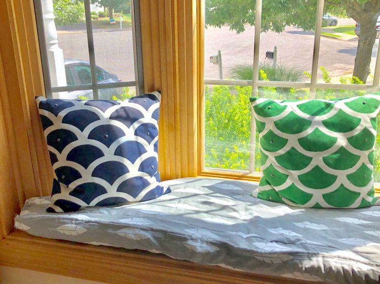 Diy window seat box cushion window seat cushions box