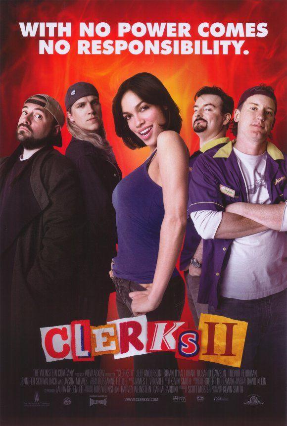 Clerks II. Jason Mewes, Kevin Smith & Rosario Dawson.