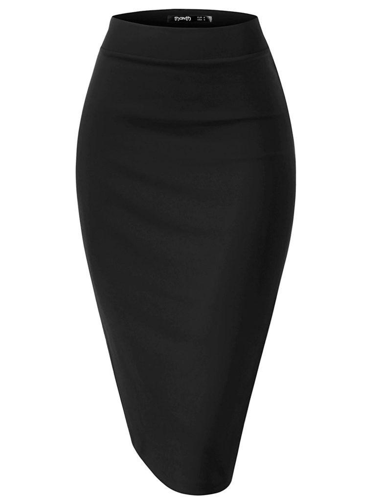 dc1090c0c33f Wrap Style, Skirt Fashion, Plus Size Casual, Women Lifestyle, Pencil, Fabric