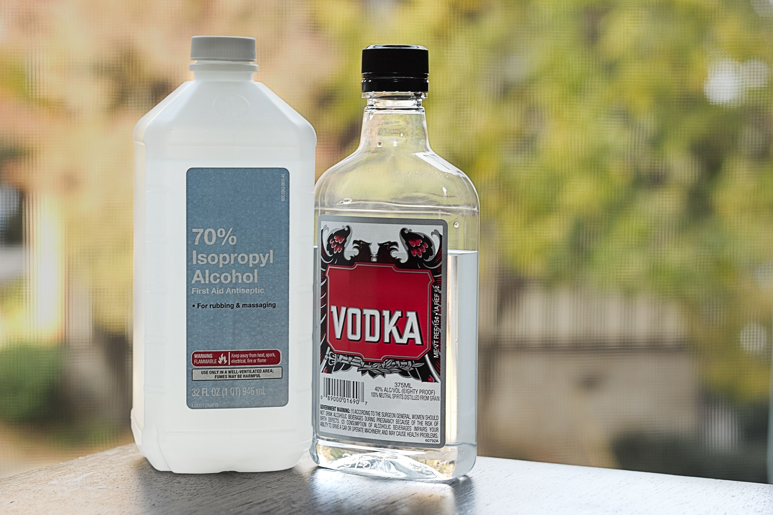 Ethanol Vs Isopropyl Alcohol To Disinfect Alcohol Alcoholic