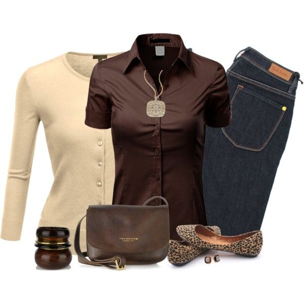 """""""Leopard Print Flats"""" by daiscat on Polyvore"""
