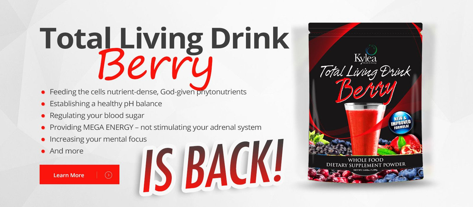 Powerful antioxidants! Check out new and improved formula!