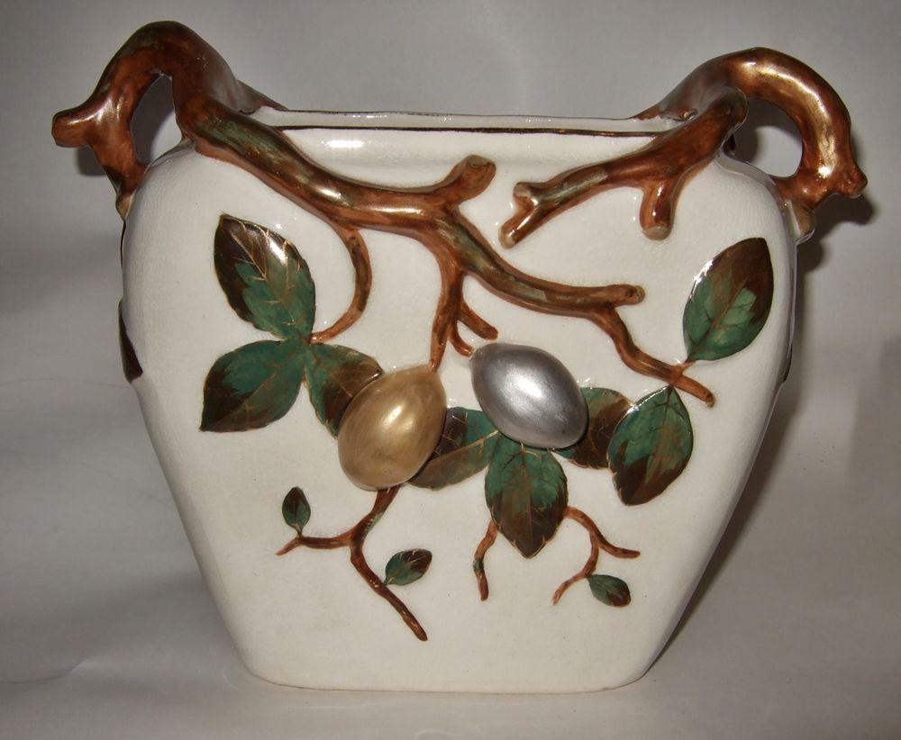 Almond nut aesthetic circa 1860 bonn vase franz anton mehlem pottery reviewsmspy