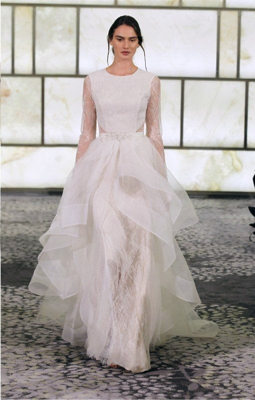 Rivini, Scarlette. Organza overskirt comes off. | Bridal - Gowns ...