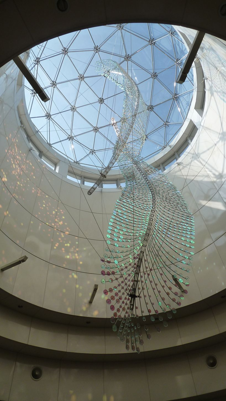 feather sculpture