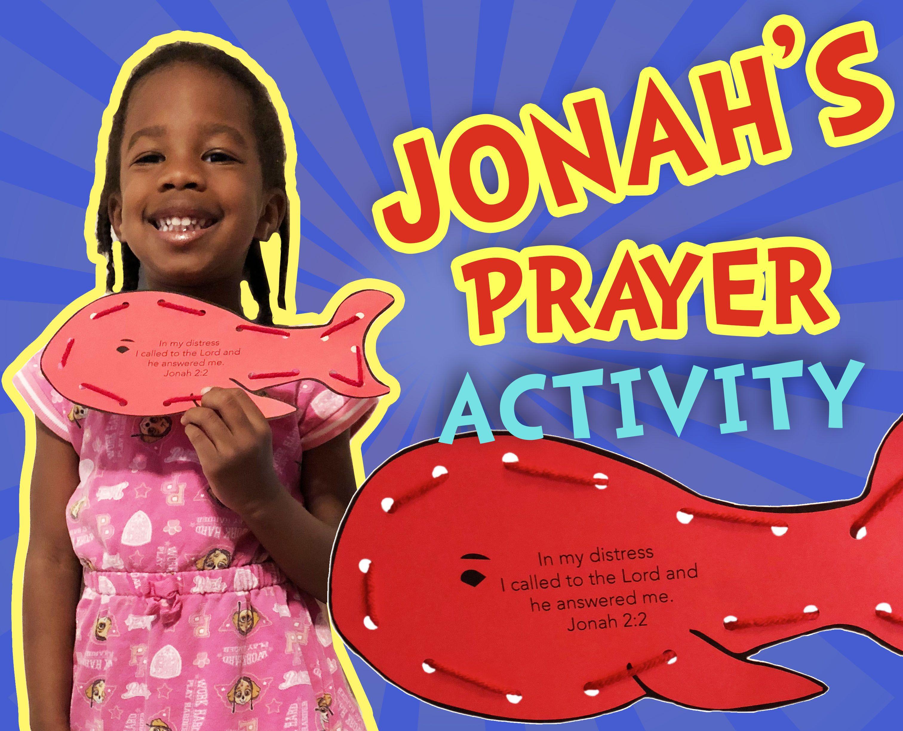 Jonah & The Whale Kids Activity | Jonah Preschool Activities | Jonah ...