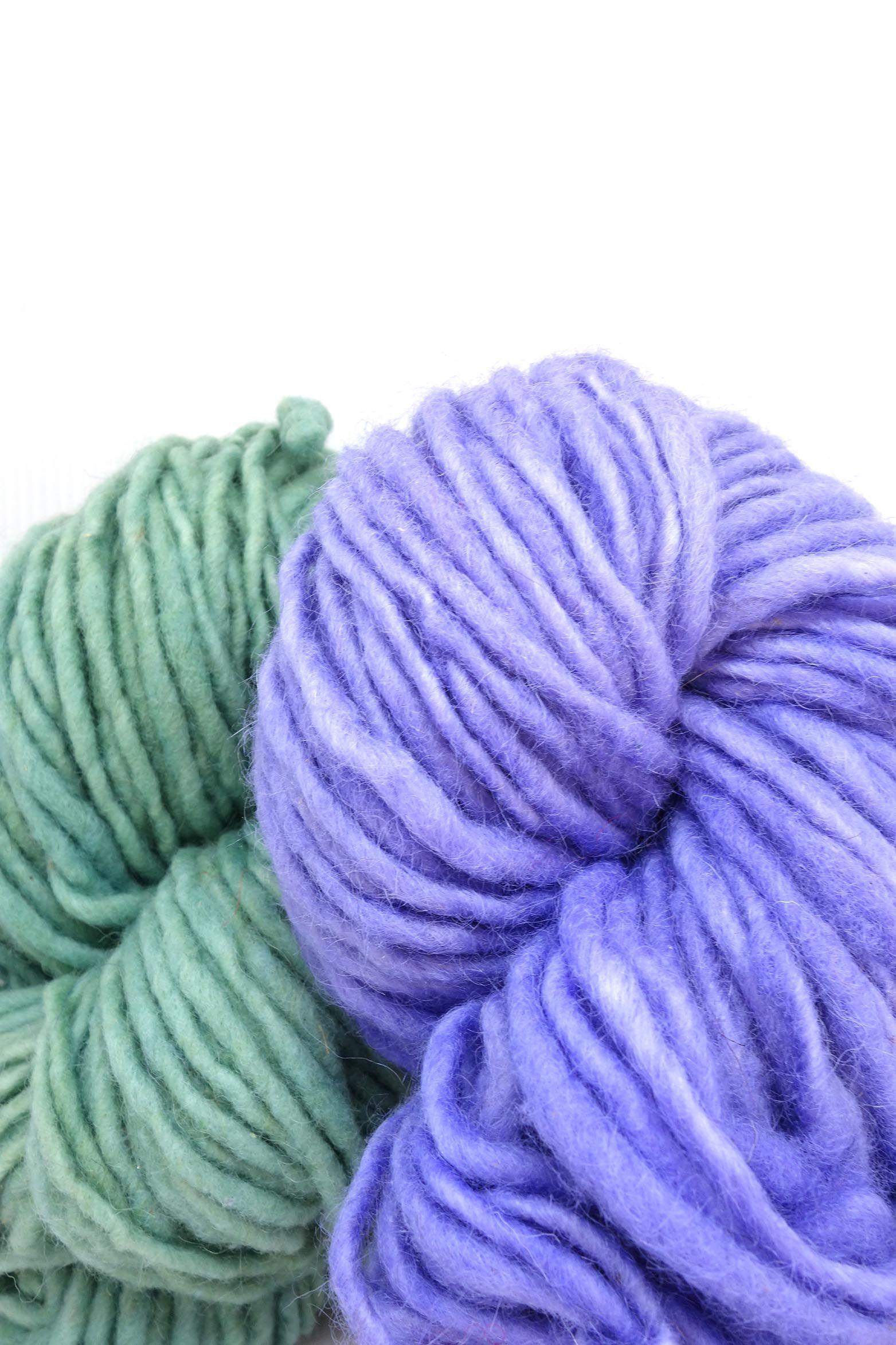 Weavers Gorgeous Handspun Wool Yarn For Tapestries Rugs