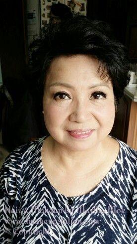 Mature asian makeup