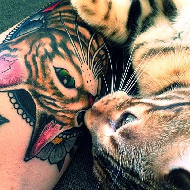 These Bengal Cat Tattoos Are Purrfection Cat Tattoo Bengal Cat