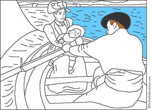 Mary Cassatt Coloring Page Enchantedlearning Com Cassatt Art