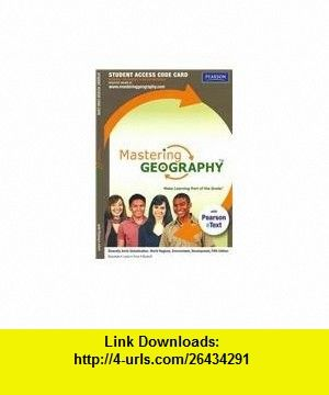 Masteringgeography with pearson etext standalone access card masteringgeography with pearson etext standalone access card for diversity amid globalization world fandeluxe Gallery