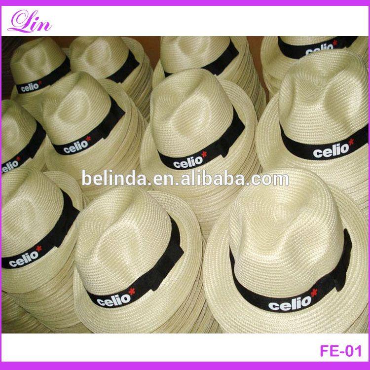4e31674ef564c5 Fedora Hat Custom Logo Band Panama Hat Cheap - Buy Wholesale Hat Panama,Cheap  Fedora Hats For Men,Summer Straw Fedora Hat Product on Alibaba.com