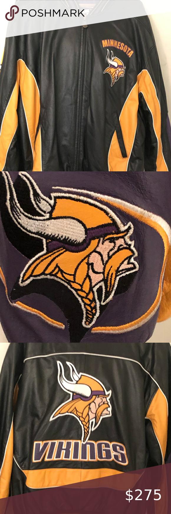 Minnesota Viking Nfl Leather Jacket Leather Jacket Quarter Zip Pullover Running Jacket [ 1740 x 580 Pixel ]