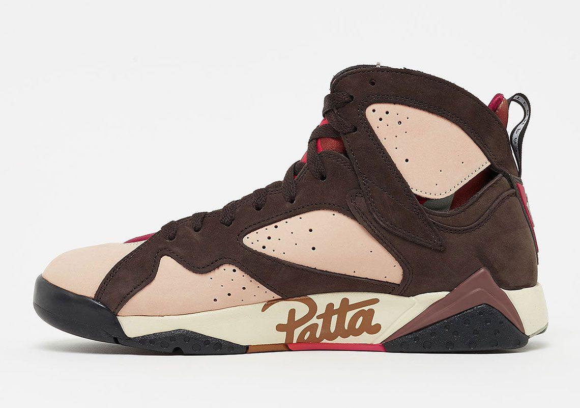 Río arriba Viento fuerte adjetivo  Patta Air Jordan 7 AT3375-200 Global Release Date | SneakerNews.com | Air  jordans, Jordans, Jordan 7