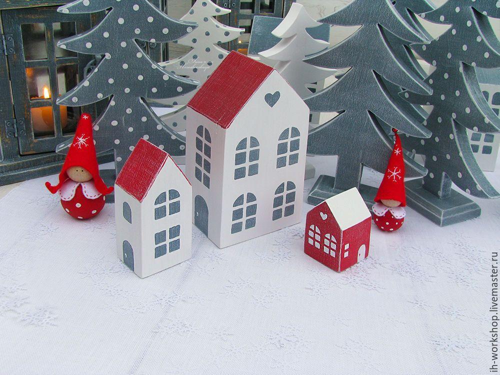 Купить Домики. Рождественская деревенька. - домики, рождество 2016, подарки на новый год, новый год 2016