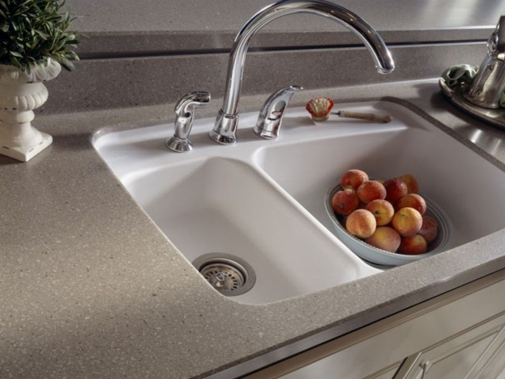 Corian Kitchen Countertop With Integrated Sink | http://navigator ...