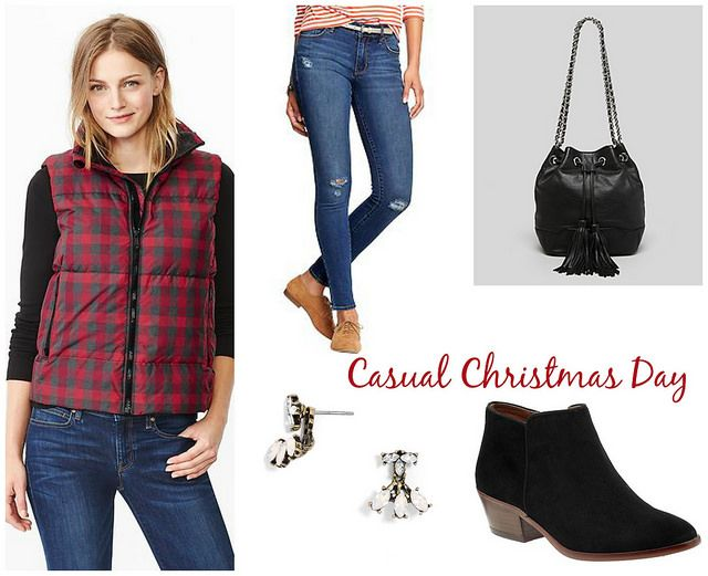 Holiday Outfit Ideas: Causal Christmas Day