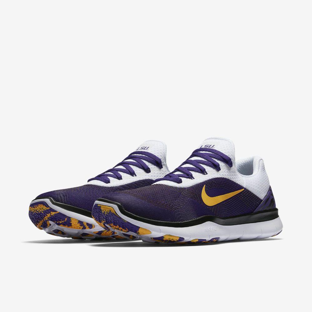 9a6894e92 Nike Free Trainer V7 Week Zero LSU Tigers Men Shoe Sz 10 Purple Gold AA0881  500  fashion  clothing  shoes  accessories  mensshoes  athleticshoes  ad ( ebay ...