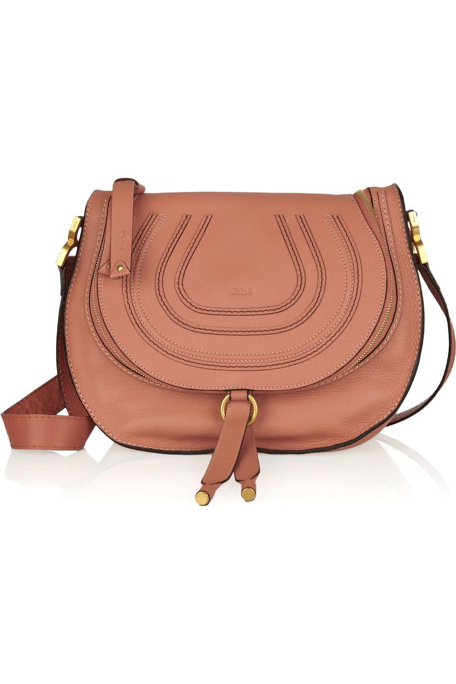 6380eab601bf2 Chloé Marcie Messenger leather shoulder bag   Lusting after ...