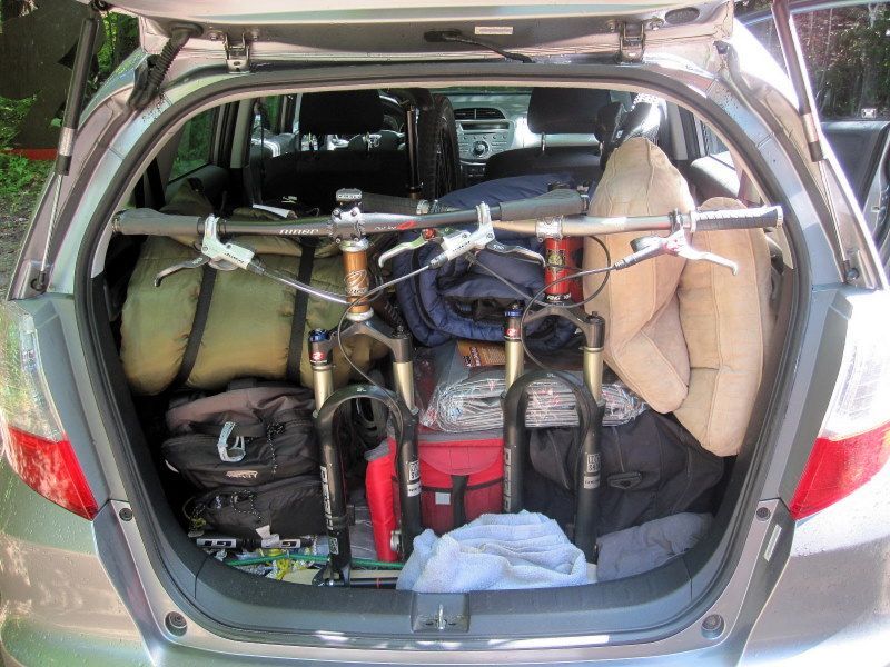 Making A Rack And Fitting 2 Bikes Into A Honda Fit Img 4650 Jpg