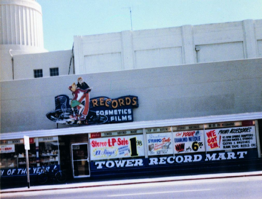 The first Tower store was located in Sacramento, California in his - copy alameda county records birth certificate