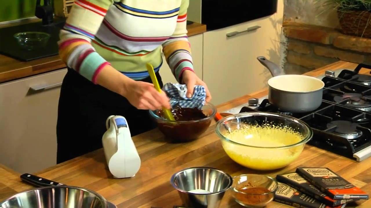 Kod Ane - Pečeni čokoladni mousse, via YouTube.