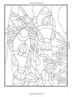 fish stained glass pattern - Google Search