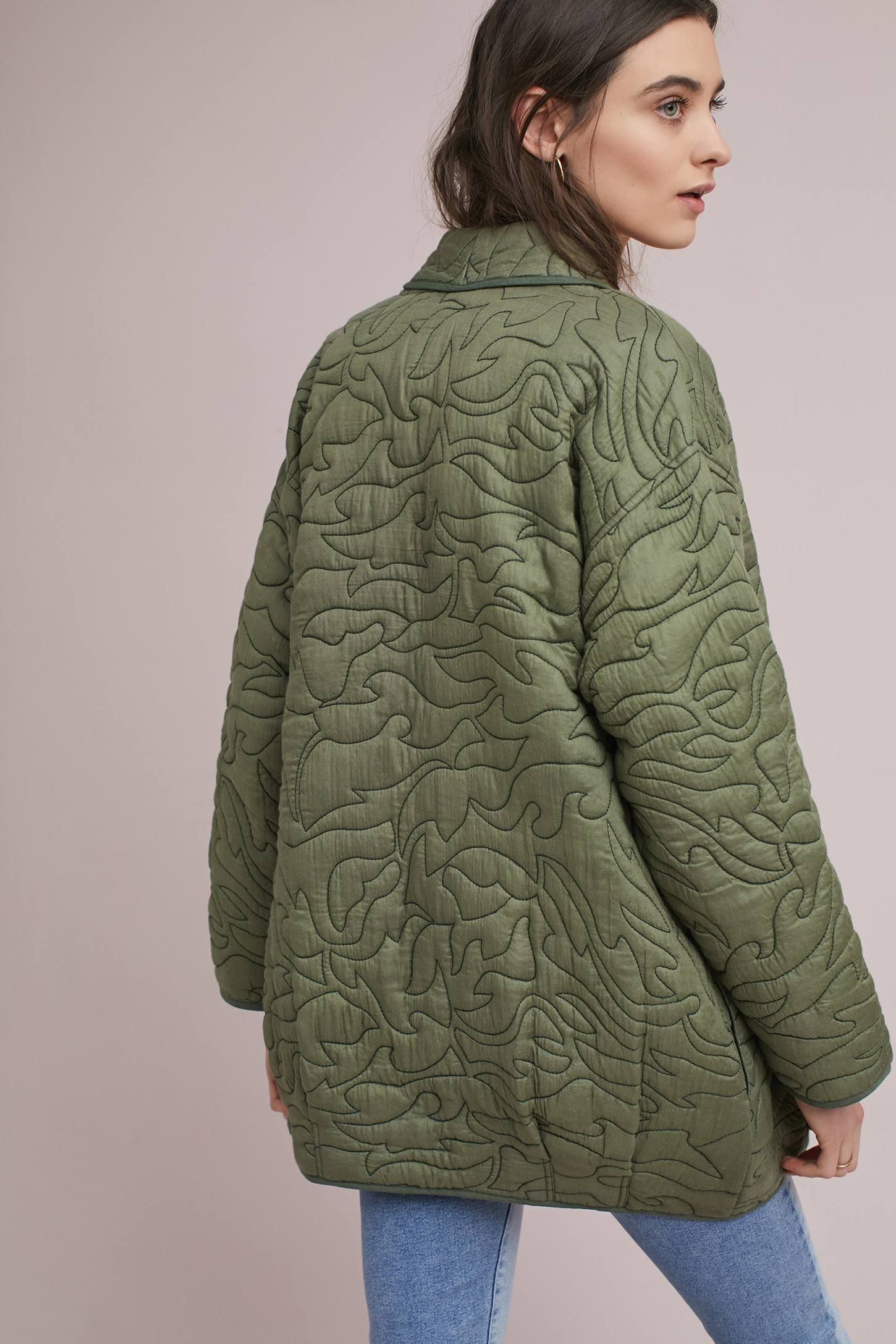 940cac008af6 Quilted Kimono Jacket