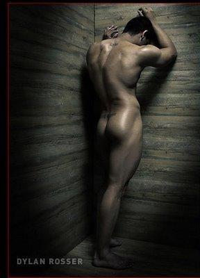 Stand in cornor nude