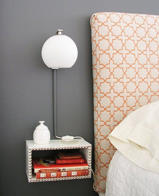 Hack, Build, Revamp: 10 Awesome DIY Nightstand Ideas | Apartment Therapy