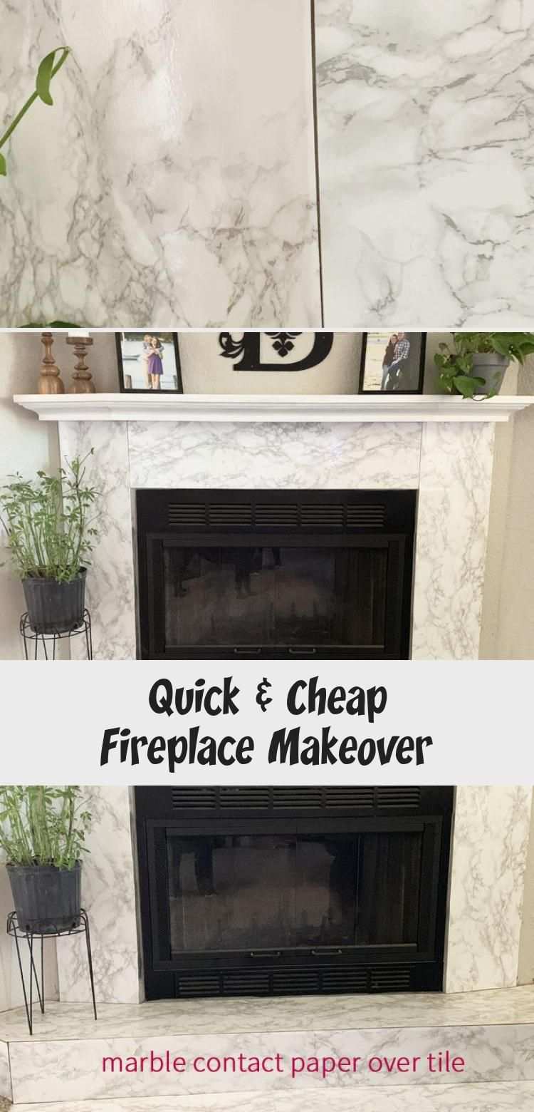 Quick Cheap Fireplace Makeover In 2020 Cheap Fireplaces