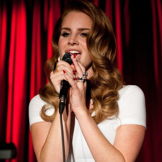 """•""""i'm so used to writing for myself — and at the end of the day, i do it because i feel like i have to. so when i'm recording or writing, i don't have other people in mind. it's not always comfortable for me, but i don't not say what i want to."""" #lanadelrey"""
