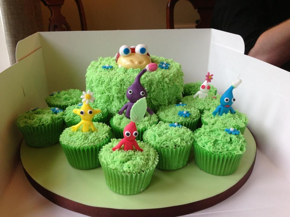 Pikmin Cake Toppers