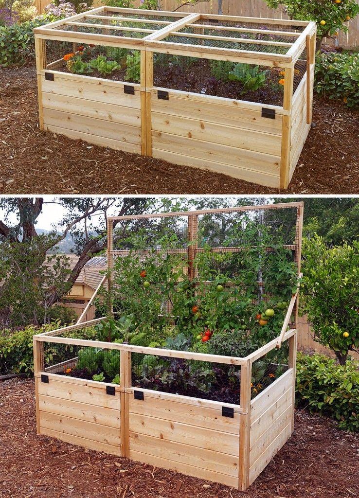 8'x12' JustAddLumber Vegetable Garden Kit Deer Proof