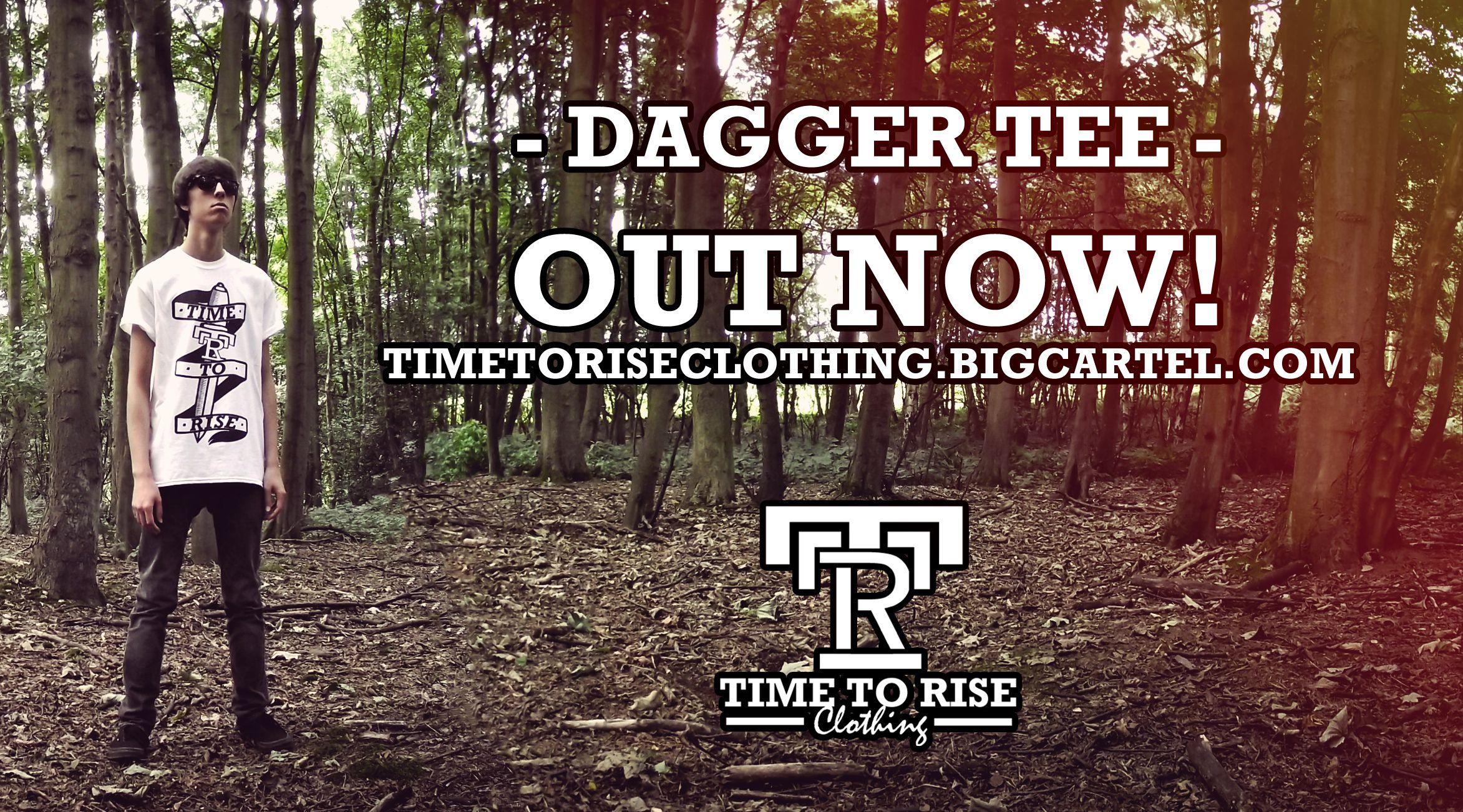 Dagger Tee promo banner!