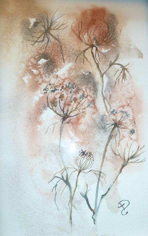 P1000501 Peinture Fleurs Les Arts Oeuvre D Art