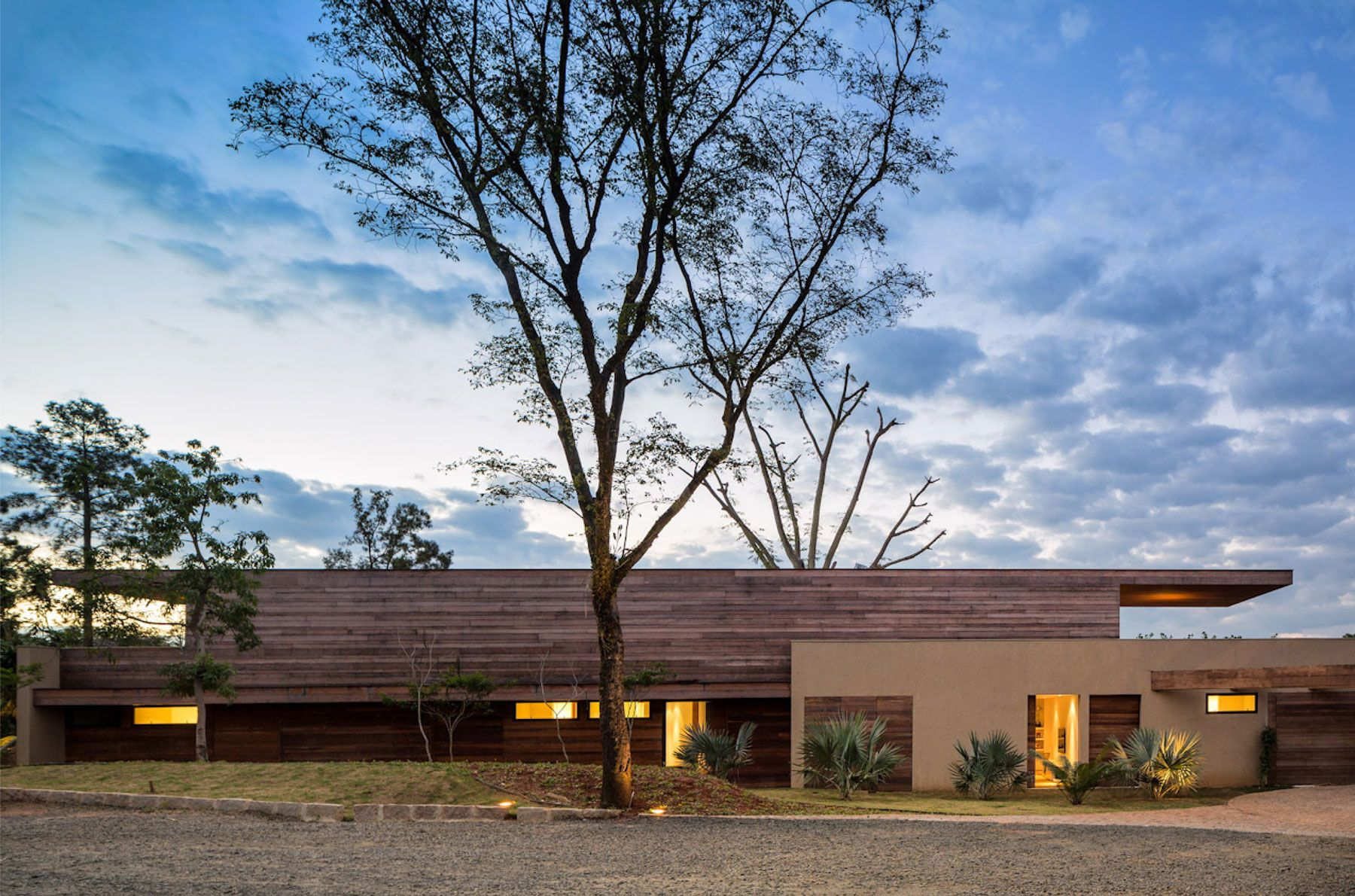 Built By Studio Arthur Casas In Itu, Brazil With Date Images By FG + SG.  Located About An Hour From São Paulo, The House In Itu Is A Refuge For A  Young ...