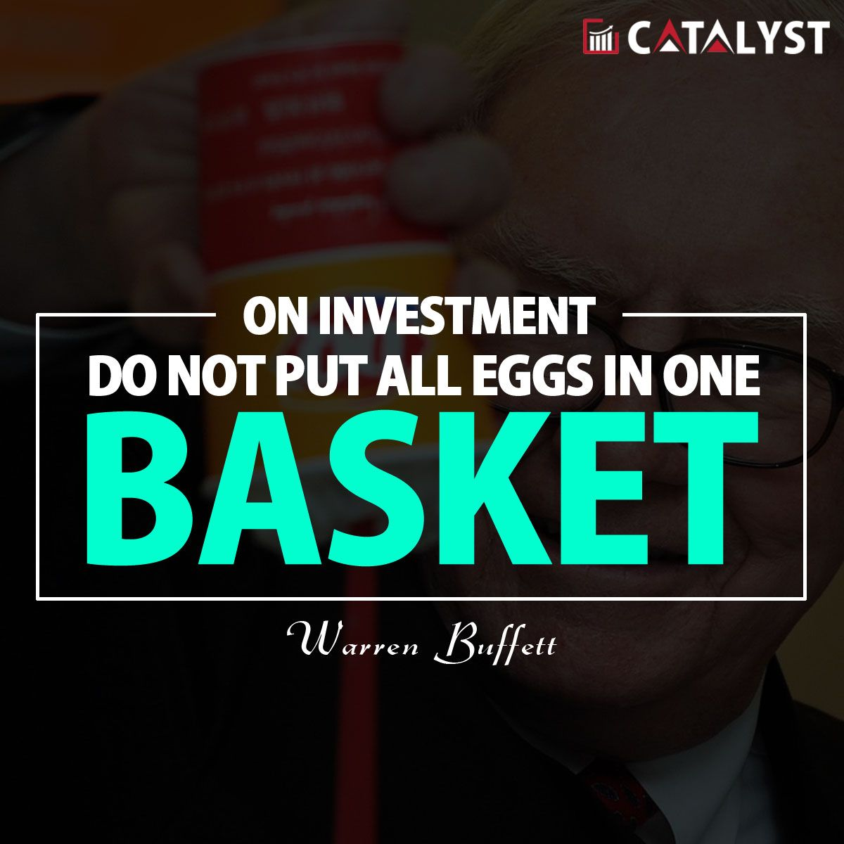 Warren buffett on investment do not put all eggs in one basket explore warren buffett do it yourself and more solutioingenieria Images