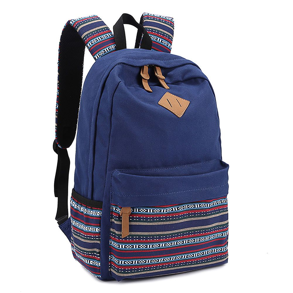 NEU Backpack Schultasche Rucksack Reisetasche Freizeitrucksack Daypack Schwarz   eBay