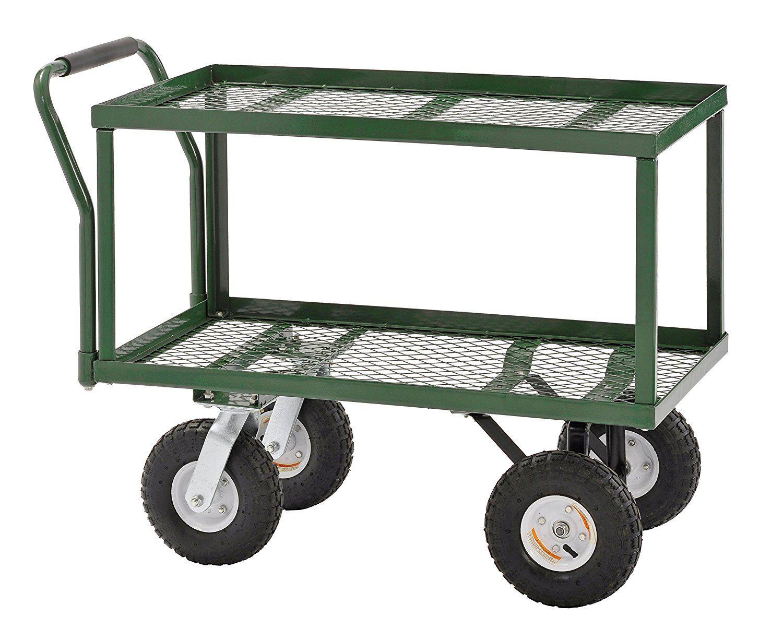 top 7 best rolling garden carts with wheels in